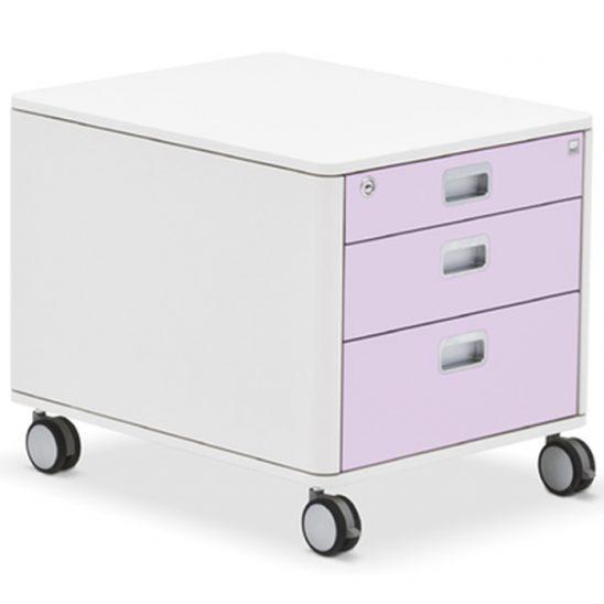 Тумба Moll C7 - розовый