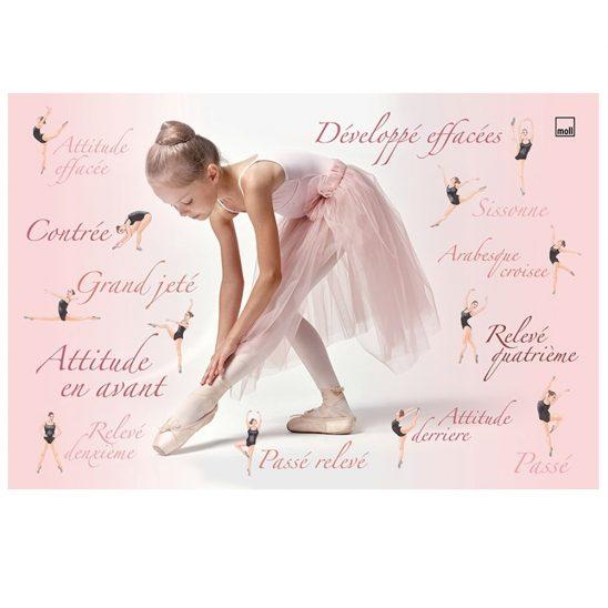 Накладки на стол - Балерина