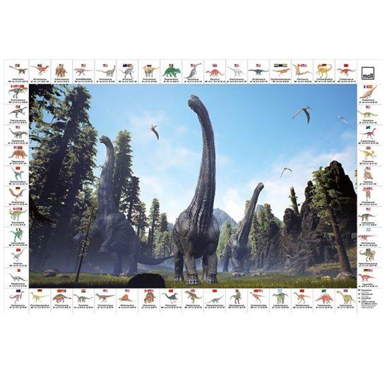 Накладки на стол - Динозавры