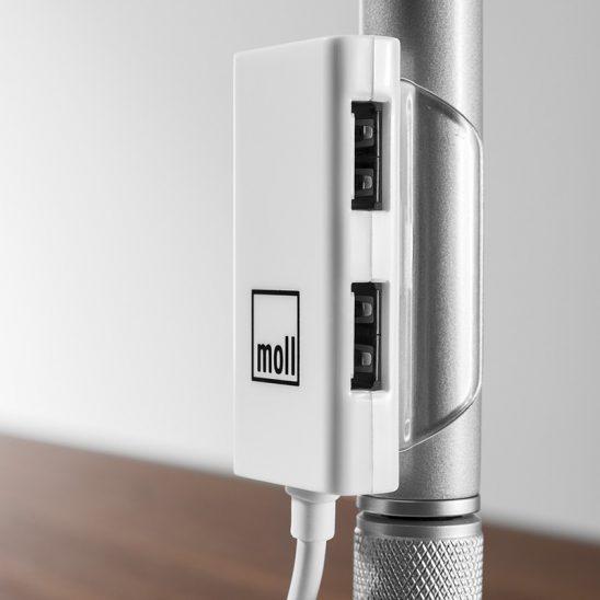 Гибкая настольная лампа Moll L7 unique