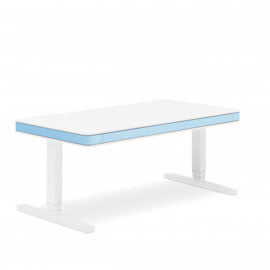 Стол регулируемый Moll T7 голубой